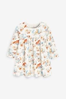 Ecru Unicorn Jersey Dress (3mths-7yrs)