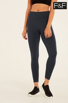 F&F Grey Blue Core Leggings