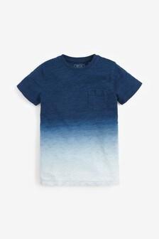 Indigo Dip Dye T-Shirt (3-16yrs)