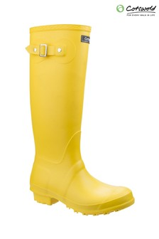 Cotswold Yellow Sandringham Wellington Boots