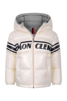 Baby Boys Ivory Down Padded Nasse Jacket