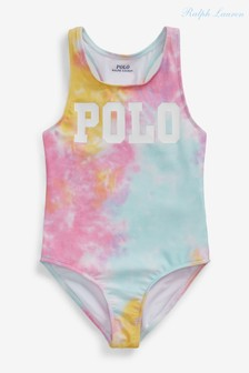 Ralph Lauren Tie Dye Polo Swimsuit