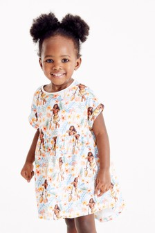 Blue Disney™ Moana Organic Cotton Jersey Dress (3mths-7yrs)