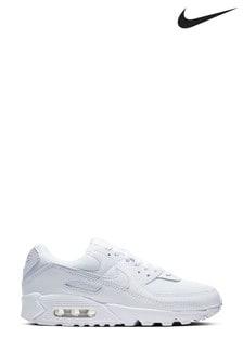 Nike White Air Max 90 Trainers