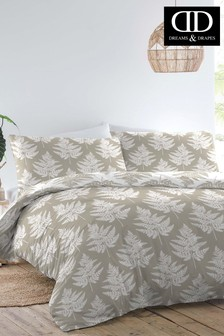 D&D Fern Floral Duvet Cover and Pillowcase Set