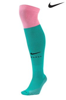 Nike Green FC Barcelona Third 20/21 Football Socks