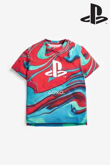 Red PlayStation™ T-Shirt (3-16yrs)