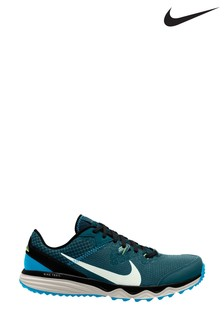 Nike Trail Teal/Silver Juniper Trainers
