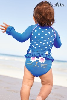 Boden Blue Novelty Cat Surf Set