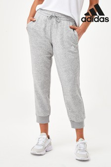 adidas Grey Essentials Linear 7/8 Joggers