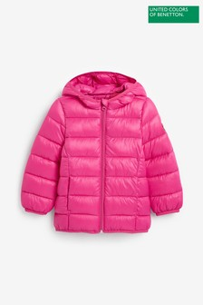 Benetton Pink Padded Jacket