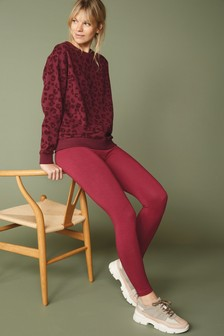 Berry Full Length Leggings
