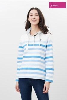 Joules Cream Saunton Funnel Neck Sweatshirt
