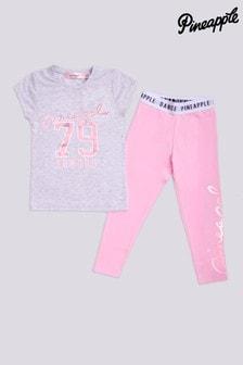 Pineapple Leggings And T-Shirt Set (2-6yrs)