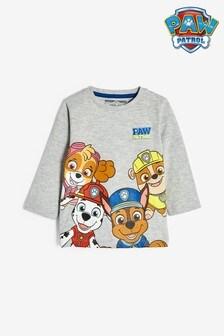 Grey Paw Patrol Long Sleeve Jersey T-Shirt (3mths-8yrs)