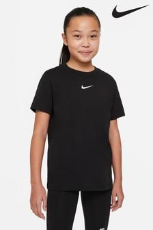 Nike Black Essential Boyfriend Fit T-Shirt
