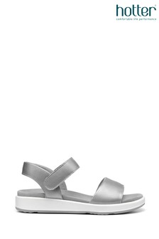 Hotter Metallic Play Touch Fastening Active Sandals