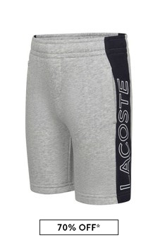 Boys Grey Shorts