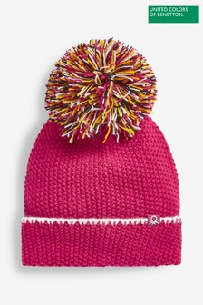 Benetton Pom Pom Hat
