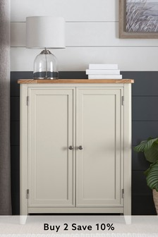 Newhaven Painted Shoe Cupboard