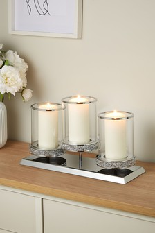 Harper Pillar Candle Centrepiece