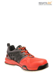 Regatta Black Mortify S1P Safety Trainers