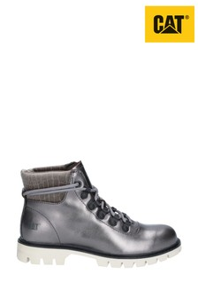 CAT® Lifestyle Grey Handshake Ankle Boots