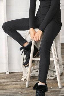 Black Thermogen Lightweight Leggings