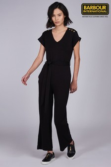 Barbour® International Black Jersey Scorpion Jumpsuit
