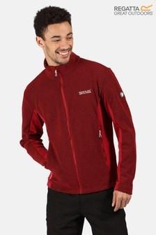 Regatta Red Highton Winter Full Zip Fleece