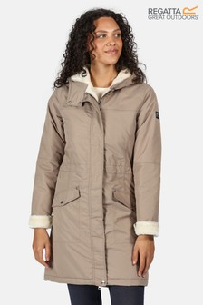 Regatta Brown Rimona Waterproof Jacket