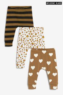 Myleene Klass Baby Leggings 3 Pack