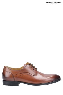 Steptronic Brown Fareham Lace-Up Shoes