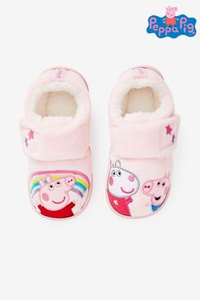 Pink Peppa Pig™ Cupsole Slippers (Younger)