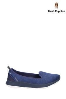 Hush Puppies Blue Life BounceMAX Slip-On Shoes