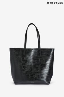 Whistles Denmark Croc Bag