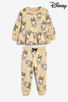 Caramel Disney™ Daisy Duck Sweat Top And Joggers Set (3mths-7yrs)