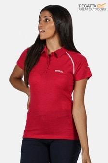 Regatta Womens Kalter Polo T-Shirt With Merino Wool
