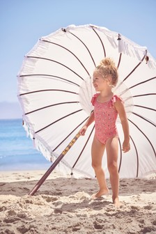 Pink Ditsy Swimsuit (3mths-7yrs)
