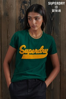 Superdry Limited Edition College Chenille T-Shirt