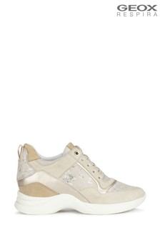 Geox Womens Armonica Beige Shoes