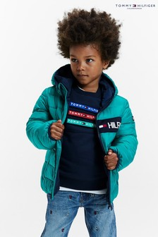 Tommy Hilfiger Green Essential Padded Jacket