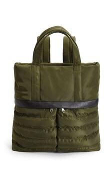 Khaki Quilt Hybrid Rucksack
