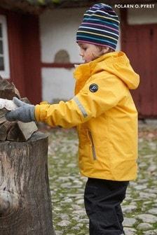 Polarn O Pyret Yellow Waterproof Shell Jacket