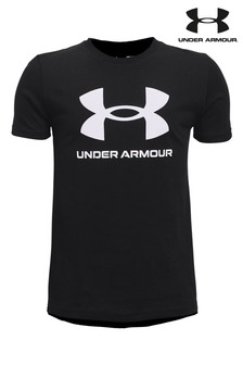 Under Armour Boys Sportstyle Logo T-Shirt