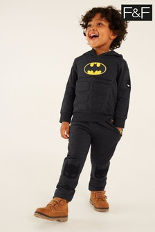 F&F Grey Marl Batman Dress Up Joggers