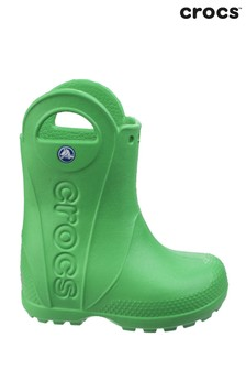 Crocs Green Handle It Rain Boots