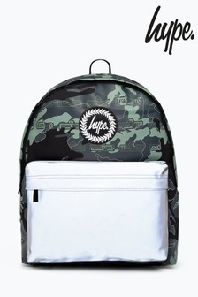 Hype. x Sesame Street Grey Logo Camo Backpack