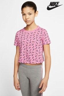 Nike Sunglasses Print Cropped T-Shirt
