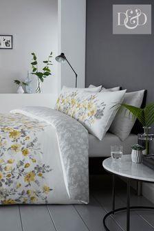Gabriella Floral Duvet Cover And Pillowcase Set by D&D